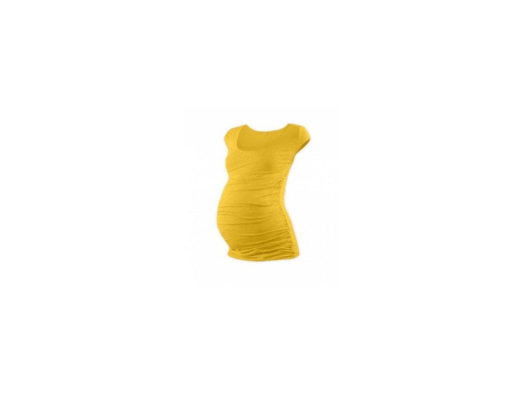 JOHANKA- těhotenské tričko, mini rukáv