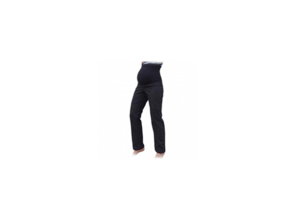 8a1627dcb543 Silvie - těhotenské softshellové kalhoty - černá - Nejen pro děti