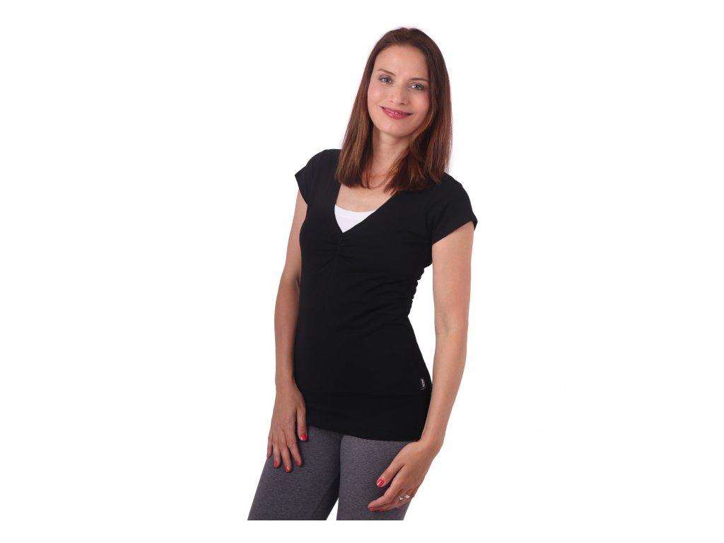 Karla - kojicí tričko, kr. rukáv