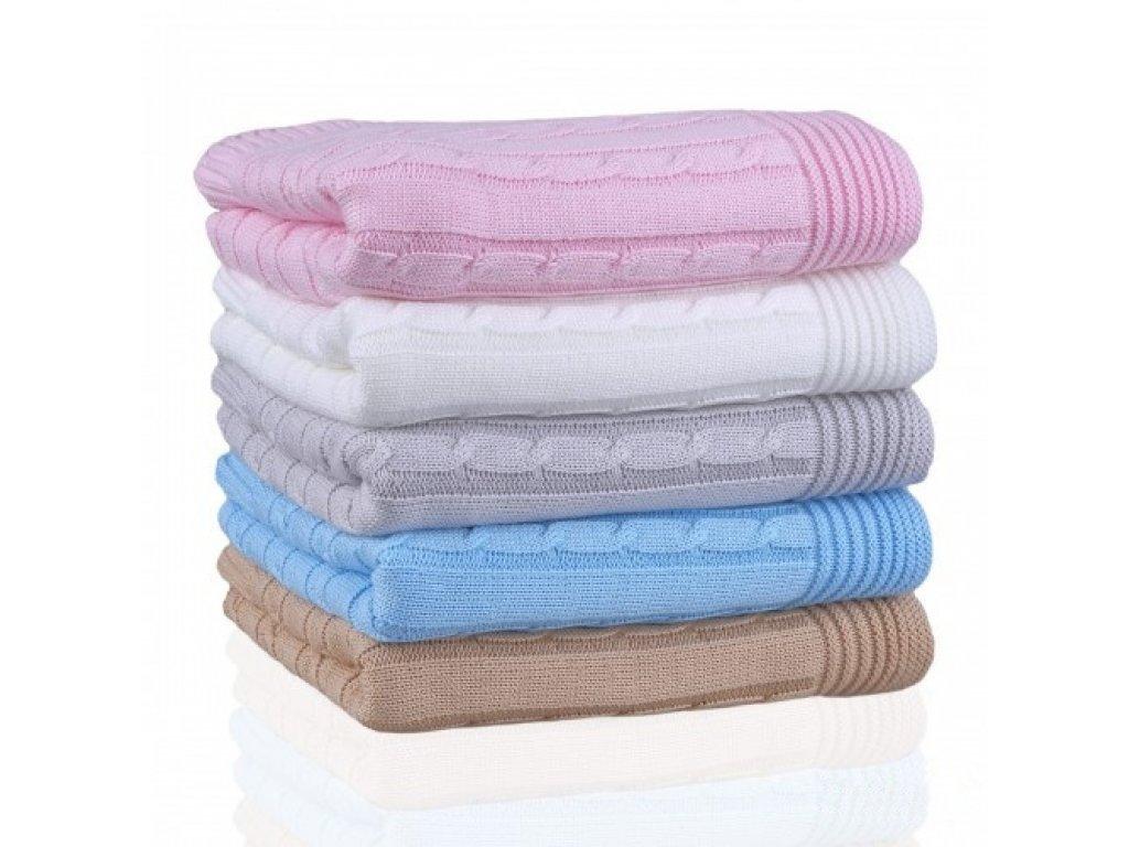 Dětská pletená deka T-tomi