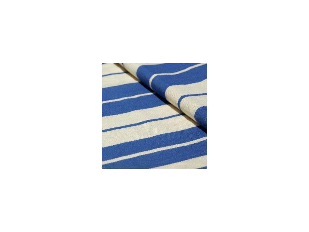 Šátek na panenky DIDYMOS Standard modrý