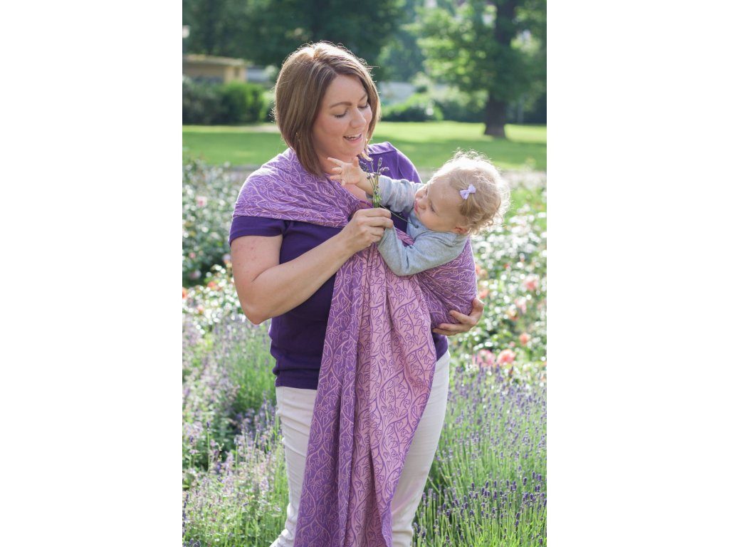 Loktu She RING SLING BIRD GARDEN PASSIFLORA