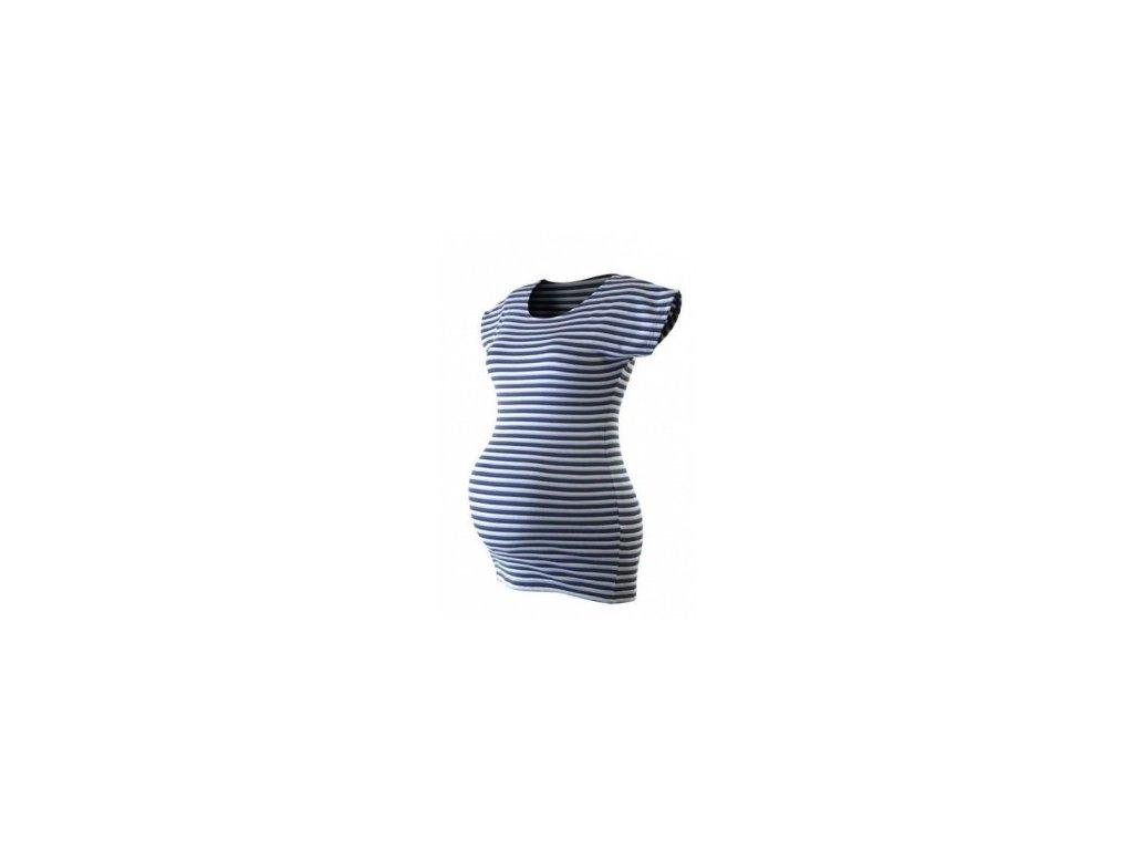 PETRA- pruhované těhotenské tričko