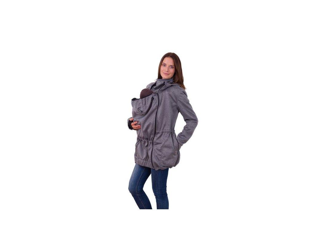 alice softshellova bunda pro nosici maminky sedy melir[1]