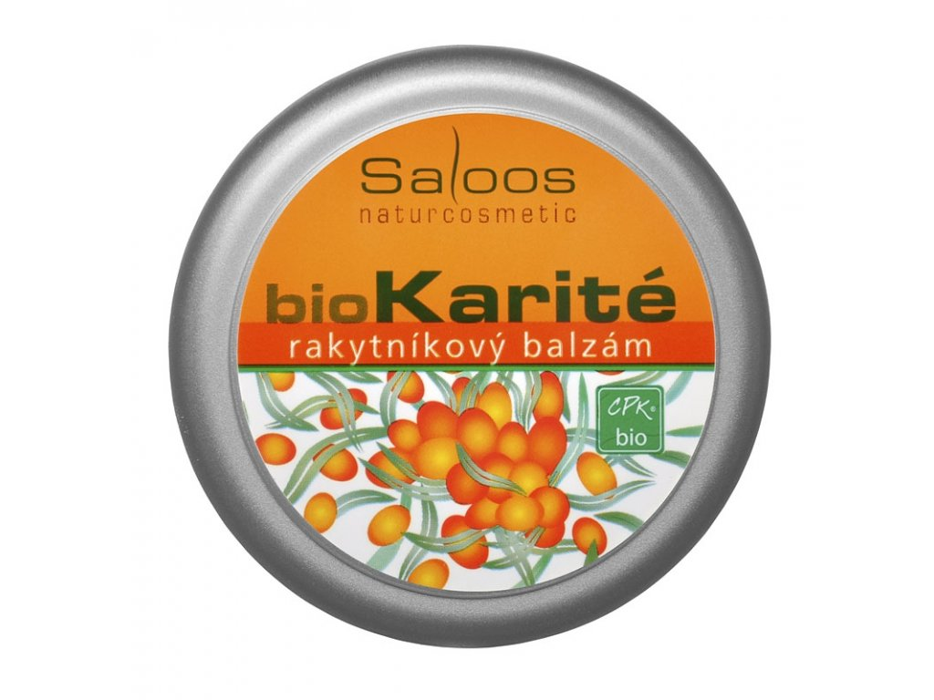 Bio Karité - Rakytníkový balzám