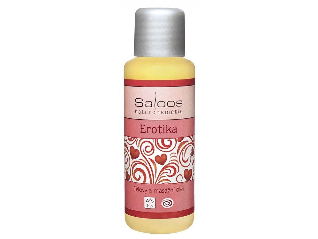 Masážní olej Erotika