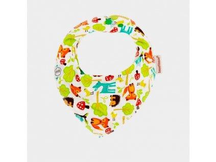Šátek slintáček - různé vzory