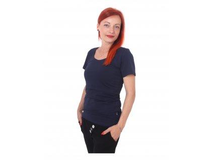 Kateřina - tričko pro snadné kojení, kr. rukáv