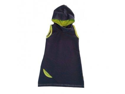 Dámská šatovka s kapucí