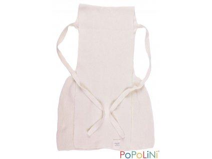 Pletené zavazovací plenky PoPoLiNi - biobavlna