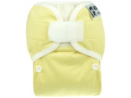 Novorozenecké svrchní Anavy na suchý zip - jednobarevné