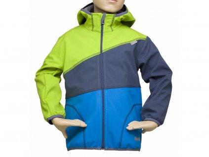 Dětská bunda Fantom SOFTSHELL trojbarevná (různé varianty)