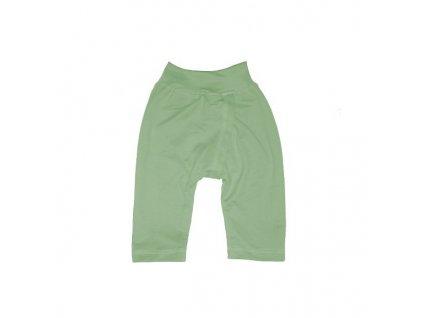 Dětské BKM kalhoty zelené