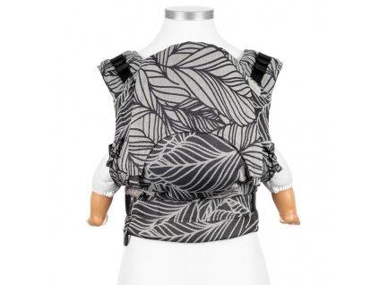 Fidella Fusion BABY SIZE - Dancing Leaves Black & White
