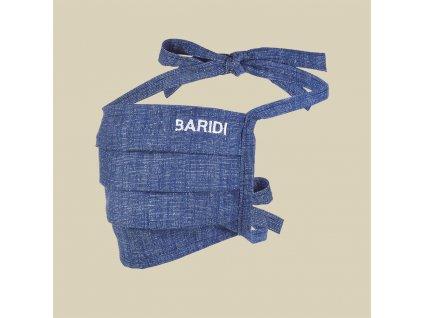 Rouška BARIDI bavlněná jednovrstvá