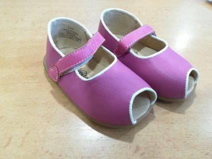 Cheeky little soles - letní dívčí botičky (18-24 měsíců)