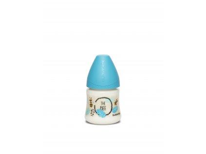 LÁHEV Kulatá savička SILIKON 150 ml - Suavinex