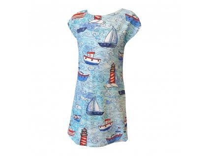 Dívčí šaty DIGI tisk
