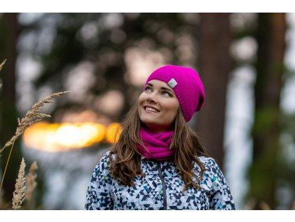 Unuo, Dámská čepice pletená - různé barvy