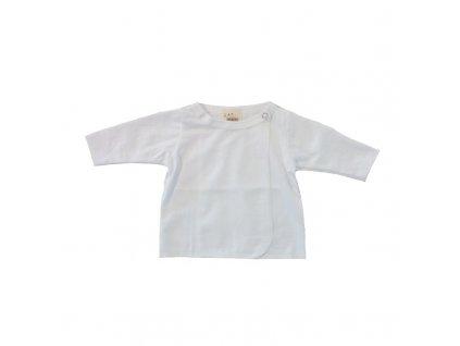 Kojenecká košilka BAMBUS natur