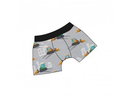 Dětské boxerky DIGI - barevné varianty