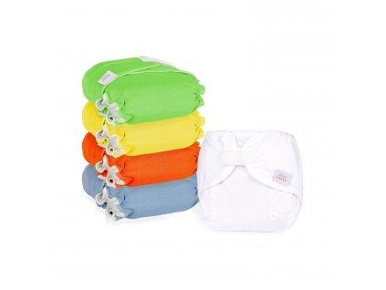 Newbie pack rainbow - novorozenecké plenky Ella's House