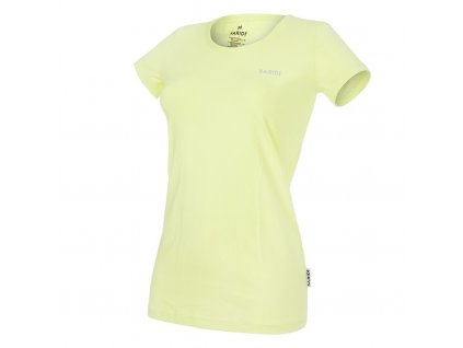 Tričko dámské tenké KR REFLEX Outlast® - citronová