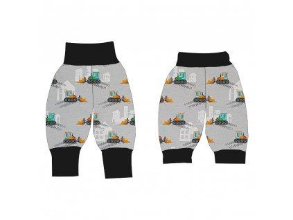 Dětské rostoucí kalhoty GROW DIGI lehké - barevné varianty