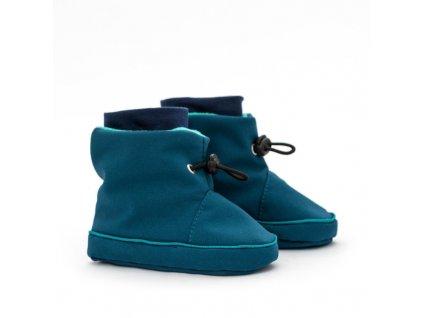 liliputi babywearing booties azure turquoise 4536