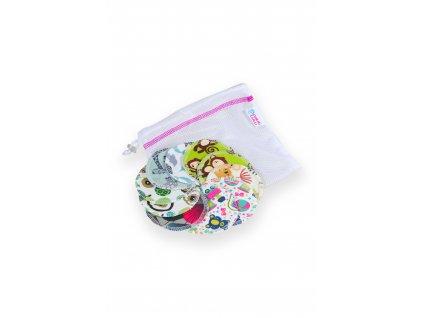 Odličovací tampóny 10 ks + pytlík na praní XS