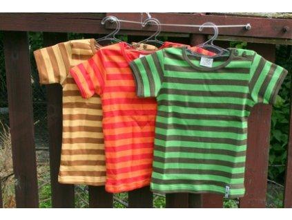 ManyMonths ECO Happy tričko krátký rukáv
