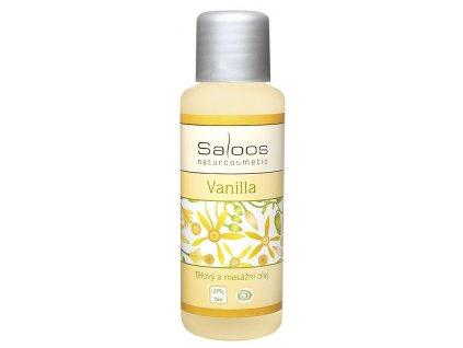 Masážní olej Vanilla