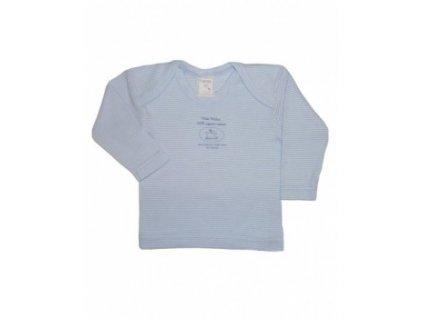 Tričko modré 100% biobavlna