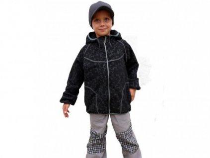 Dětská bunda Fantom SOFTSHELL s potiskem (doprodej)