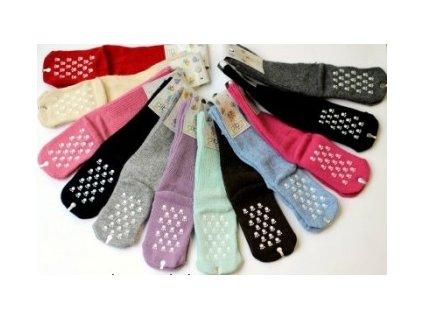 Ponožky DIBA vlněné protiskluzové