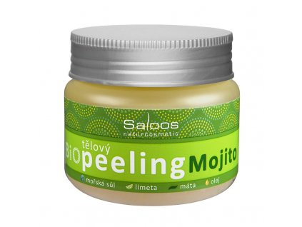 Bio tělový peeling Mojito, 140ml