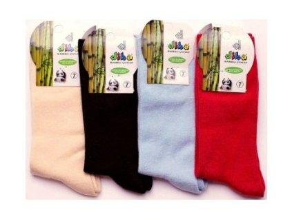 Dětské luxusní ponožky DIBA bambusové