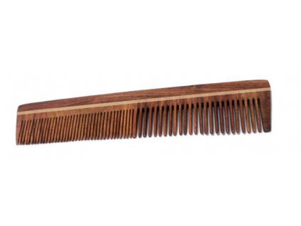 Hřeben z palisandrového dřeva - dvojitý