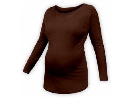 NIKOLA - netopýří těhotenské tričko, dl.rukáv