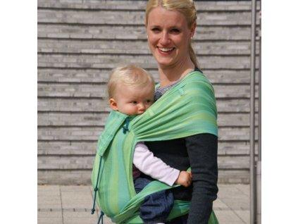 nositko od narozeni didytai vlny lipove zelene
