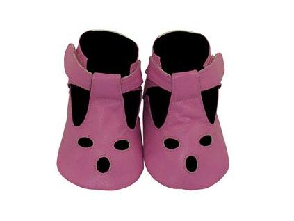 sherbet pink baby sandals main 136 136