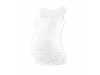 JOHANKA- těhotenské tričko bez rukávů