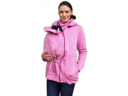 Renata - nosící svetr (přední nošení) - melír