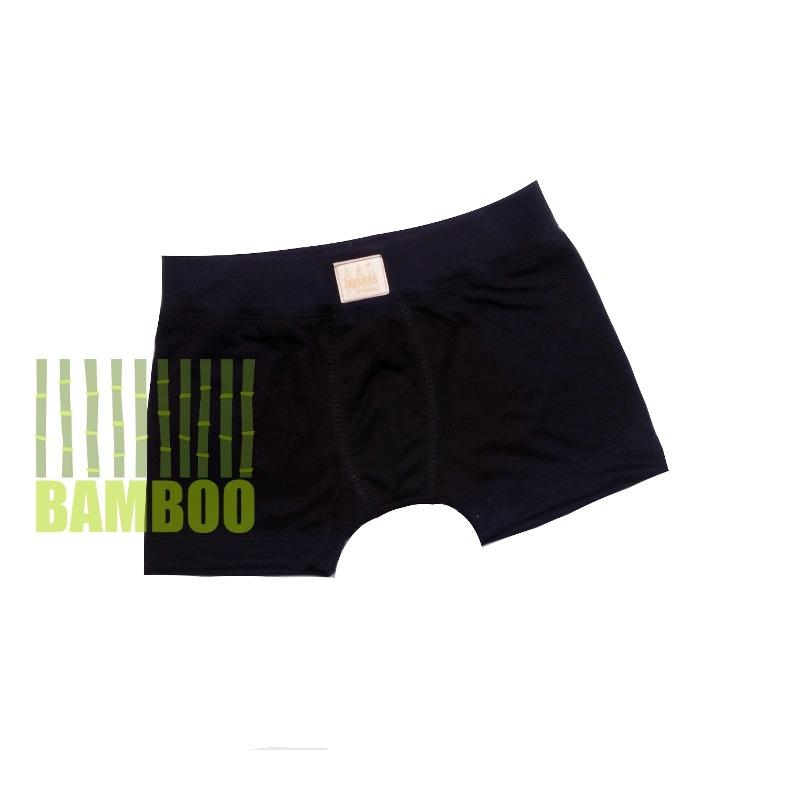FARMERS® Dětské boxerky BAMBUS Barva: černá, Velikost: 104/110