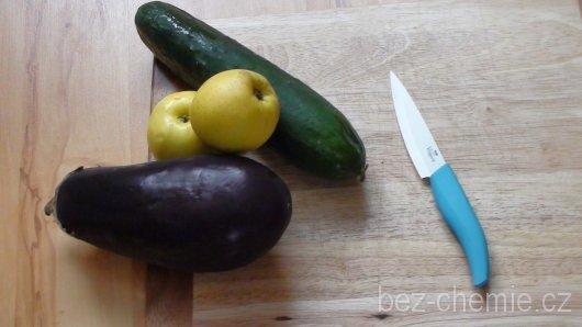 Vitapura Keramický nůž 10 cm Barva: modrá rukojeť