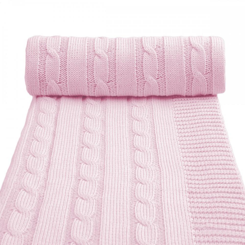 Dětská pletená deka T-tomi Barva: růžová