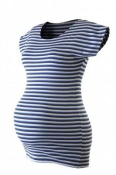 Jožánek PETRA- pruhované těhotenské tričko Barva  námořnické e443e22cd06