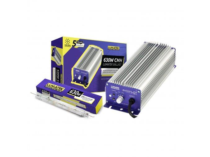 LUMATEK 630W DE CMH Kit Controllable