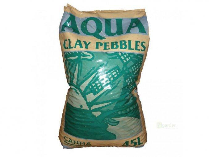 canna aqua clay pebbles 45l cover