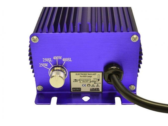 Lumatek digitální předřadník 400W, 230V